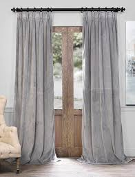 Velvet Curtains Innovative Gray Velvet Curtains And Grey Bedroom Curtains