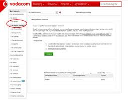 vodacom airtime solved how to add additional numbers to myvodacom vodacom community