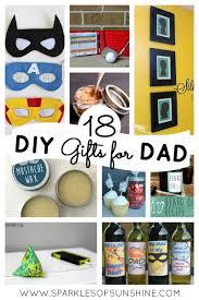 18 diy gifts for dad sparkles of sunshine