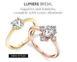 bridal rings company designer engagement rings parade design