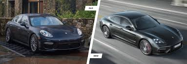 electric porsche panamera 2017 porsche panamera old vs new compared carwow