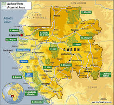Map Of West Africa by Gabon Maps Gabon Pinterest Africa And France