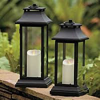 Patio Latern Candle Lantern Decorating Ideas Images In Patio Eclectic Design