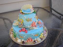 the sea baby shower ideas 11 the sea themed baby shower cakes photo the sea