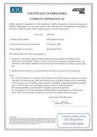 9 best images of sample certificate of liability insurance