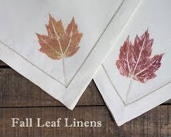 fall leaf linens alpha