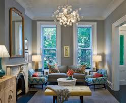 Family Room Window Treatments by Rust Colored Paint Family Room Contemporary With Wall Art Window