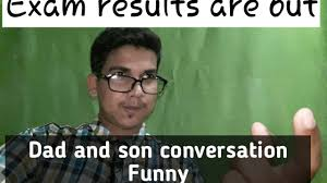 Indian Dad Meme - dad and my conversation when exam result is out funny video in