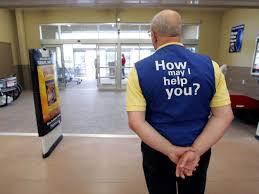 wal mart brings back greeters reduce theft business insider