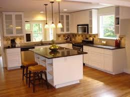 contemporary gourmet kitchen