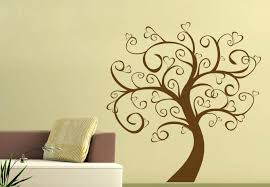 tree of hearts wall decal lovely home decor for