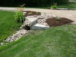 Drainage Ideas For Backyard Ditch Landscaping Culvert Landscaping Lawn And Garden
