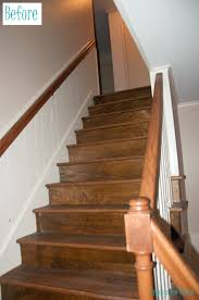 Stairs In House by Renovation Rehab Replacing The Staircase From