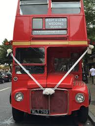 party bus prom prom party bus in london on a routemaster bus