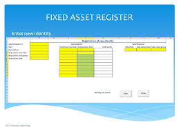 Fixed Asset Register Excel Template Fixed Asset Register Of Excel Template Fixed Assets