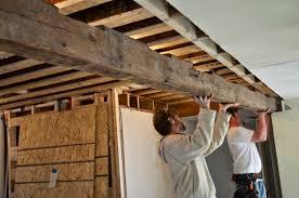 sopo cottage progress update beams up walls gone love
