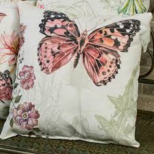 18 square climaweave natural curiosities indoor outdoor pillow