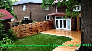 Wrap Around Deck by Horizontal Fence Pergola And Wrap Around Deck Youtube