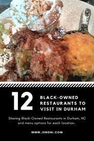 black owned restaurants in durham nc jenoni