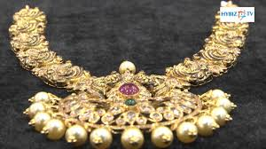 diamonds gold necklace images Uncut gold necklace design latest malabar gold and diamonds jpg