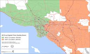 Los Angeles County Zip Code Map by Placeanadlatimescom Main News Placeanadlatimescom Main News