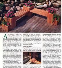 Plant Bench Plans - planter bench plans u2022 woodarchivist
