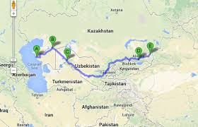 middle east map kazakhstan the journey so far part 2 and a route through the mıddle east