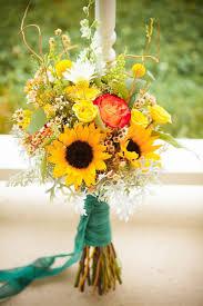 sunflower wedding bouquet large sunflower wedding bouquet fall weddings flowers