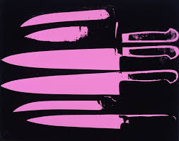 Awesome Kitchen Knives Andy Warhol Knives Awesome Sauce Art Pinterest Warhol And