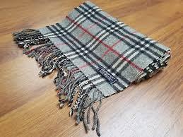 light blue burberry scarf authentic vintage burberry scarf light blue check 100 lambswool in