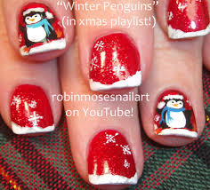 robin moses nail art nail art cute christmas nails christmas