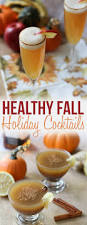 3 healthy fall holiday cocktails lightened up party drinks
