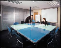 Square Boardroom Table Contemporary Conference Table