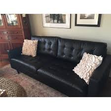 leather sofa free delivery impressive empress tufted bonded leather sofa free shipping today