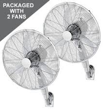 gym fans for sale fanco premium semi commercial wall fan 20 pack of 2 with mains remote