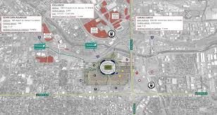 Map Of Denver Colorado by Parking Transportation