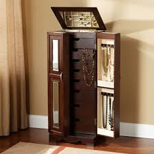 Armoire With Mirrored Front Innovative Jewelry Box Hanging Necklace 24 Best Images About