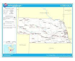 Maps Omaha Nebraska Location On The Us Map Nebraska State Information