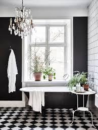 vintage black and white bathroom ideas stunning vintage and dustjacketattic checkerboard floor photo