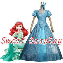 Ariel Mermaid Halloween Costume Adults Popular Ariel Halloween Costume Buy Cheap Ariel