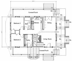 Pier Foundation House Plans Log Style House Plan 3 Beds 2 00 Baths 2296 Sq Ft Plan 451 13