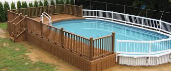 semi inground pools westrock pools u0026 spa