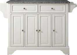 dahlia kitchen island with granite top u0026 reviews joss u0026 main