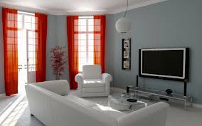 drawing room interior for small house home wall decoration