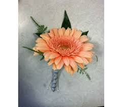 Coral Boutonniere Homecoming Delivery Depew Ny Elaine U0027s Flower Shoppe