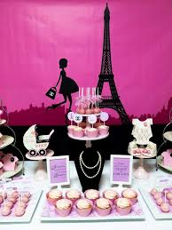 parisian baby shower 20 best pink themed baby shower images on