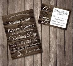 wedding invitations canada rustic wedding invitations wedding invitation templates