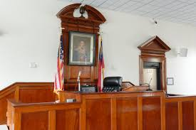 file clinch county courthouse courtroom bench homerville ga us
