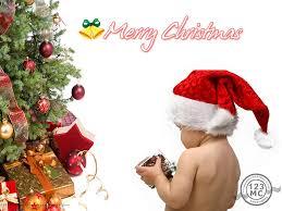 christmas tree with playing kid jpg