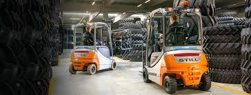 gear forklift material handling equipment warehouse trucks